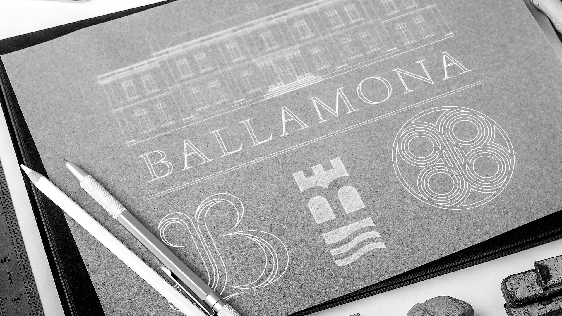 Ballamona Logo Sketch