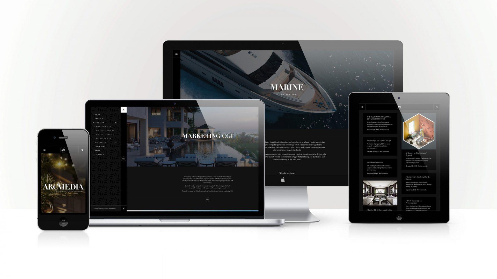 ArcMedia Responsive Website