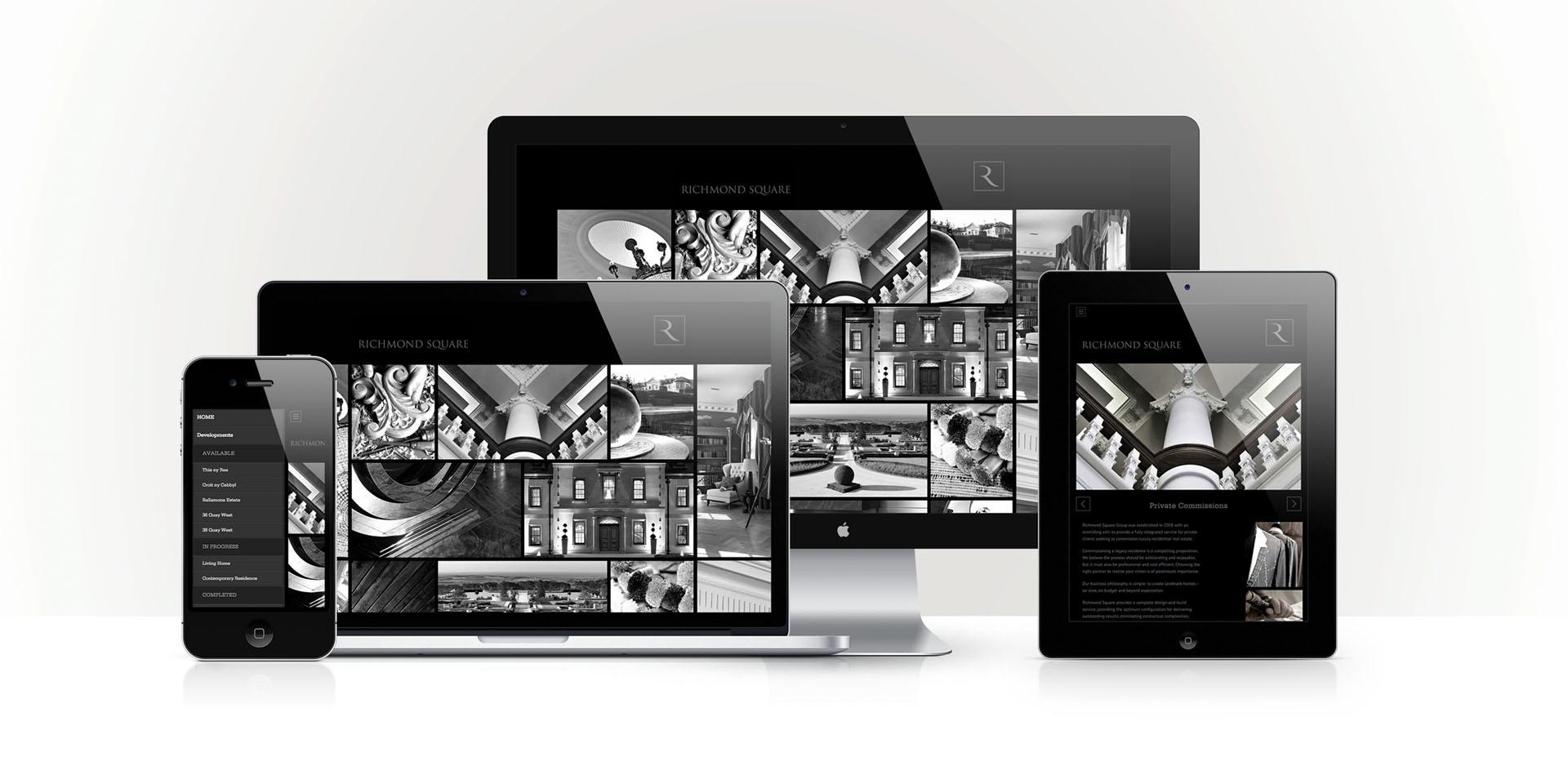 Richmond Square Group responsive website