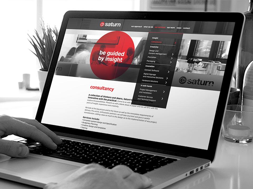 Saturn Visual Website