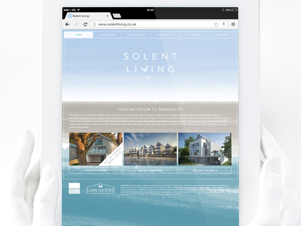 Solent Living website