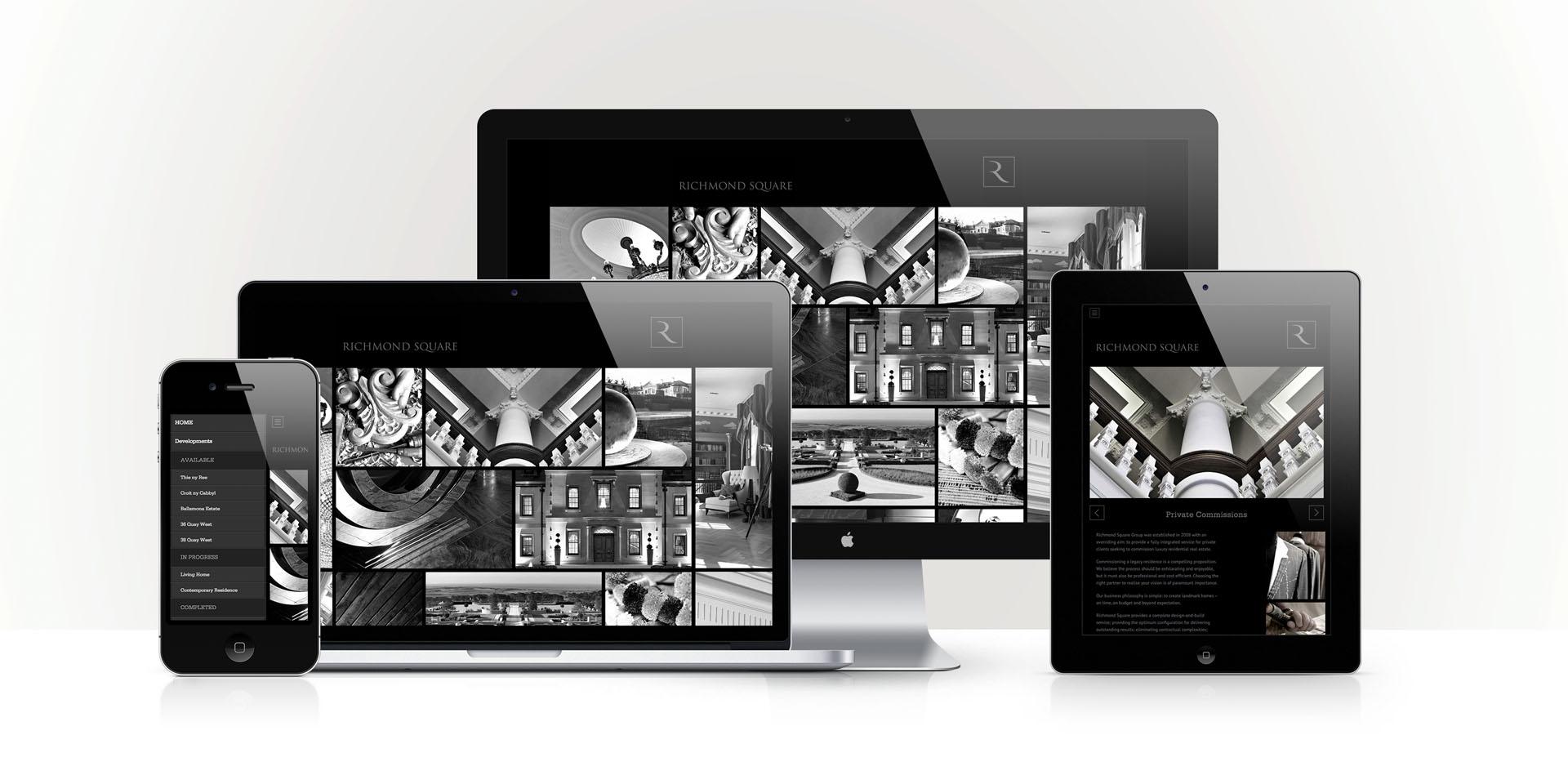 Richmond Square responsive website
