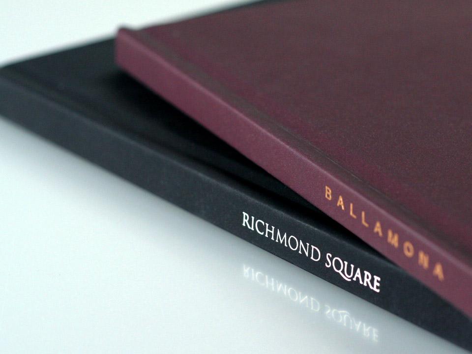 Richmond Square book & Ballamona book detail